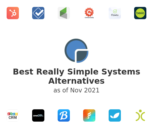 Best Really Simple Systems Alternatives