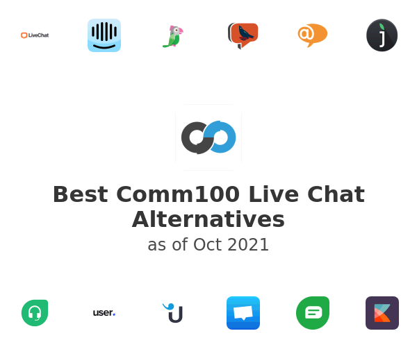 Best Comm100 Live Chat Alternatives