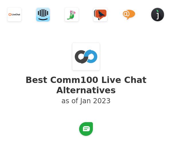 Best Comm100 Live Chat Alternatives