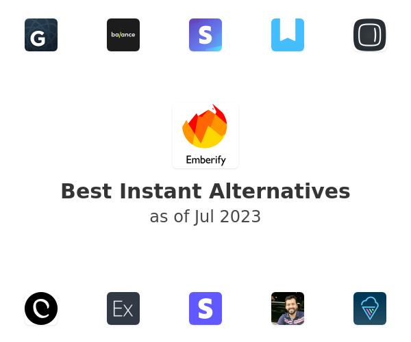 Best Instant Alternatives