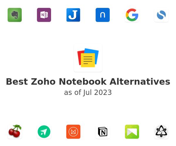 Best Zoho Notebook Alternatives