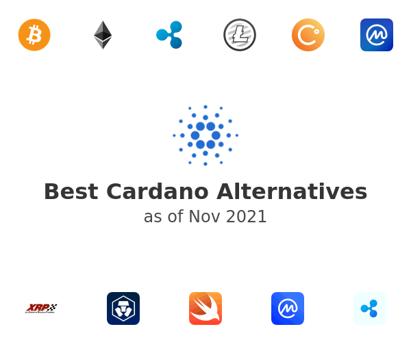 Best Cardano Alternatives