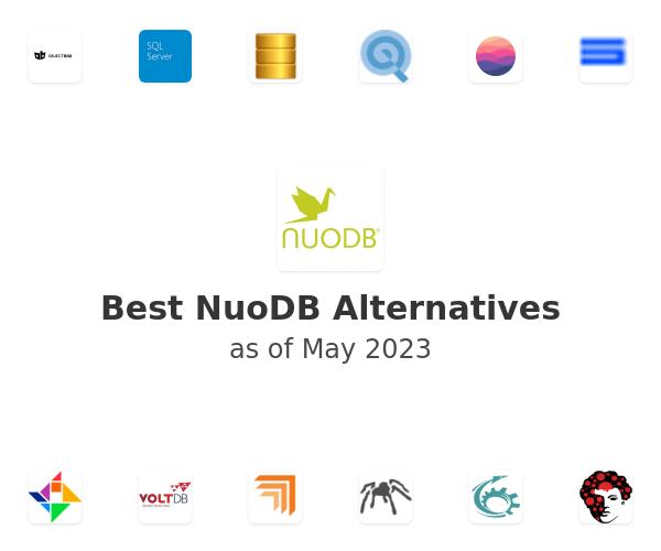 Best NuoDB Alternatives