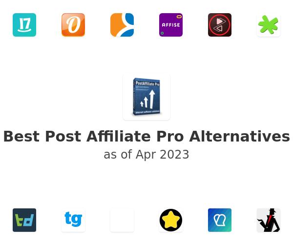 Best Post Affiliate Pro Alternatives