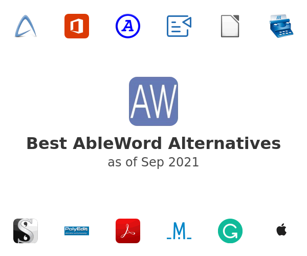 Best AbleWord Alternatives