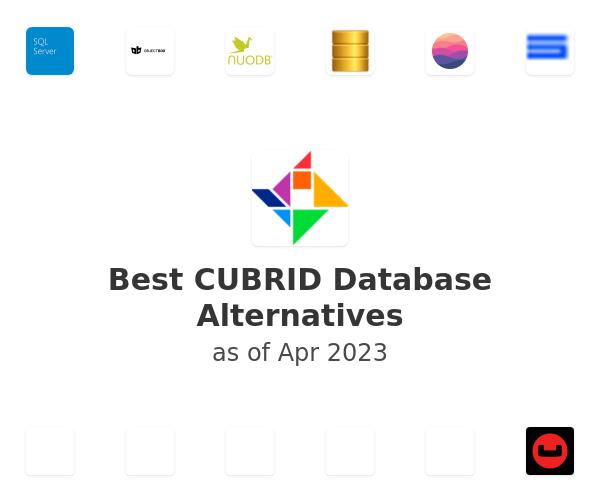 Best CUBRID Database Alternatives