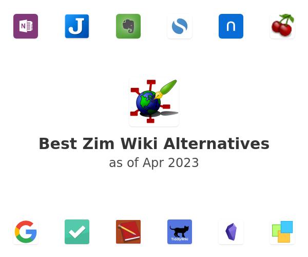 Best Zim Wiki Alternatives