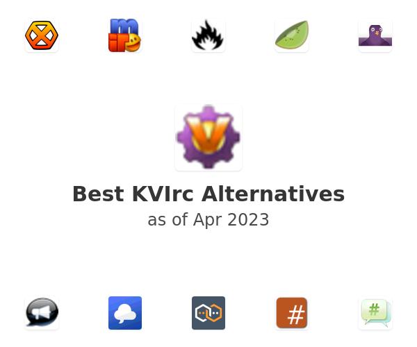 Best KVIrc Alternatives
