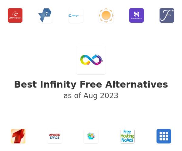 Best Infinity Free Alternatives