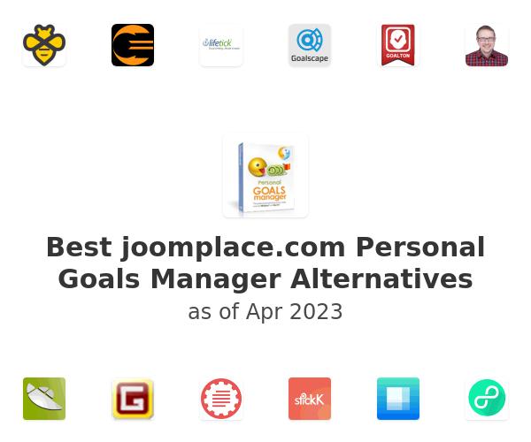 Best Personal Goals Manager Alternatives