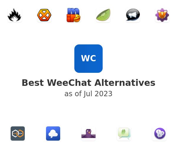 Best WeeChat Alternatives