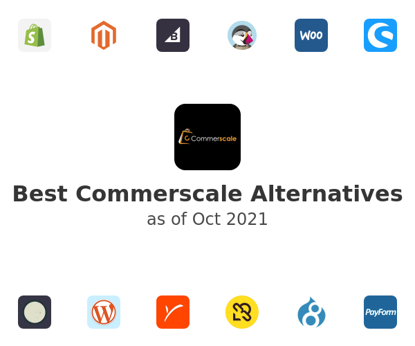 Best Commerscale Alternatives