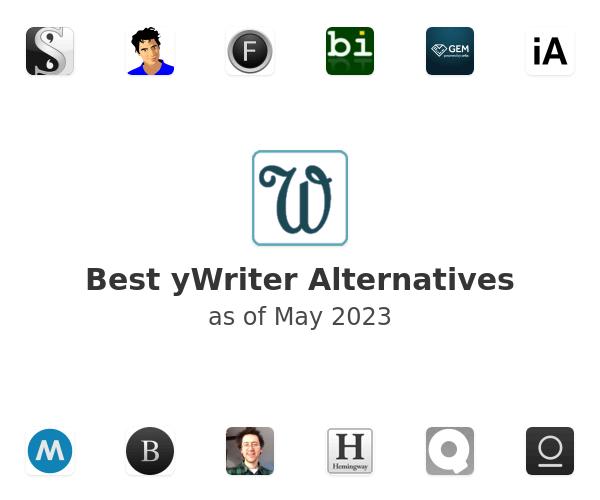 Best yWriter Alternatives