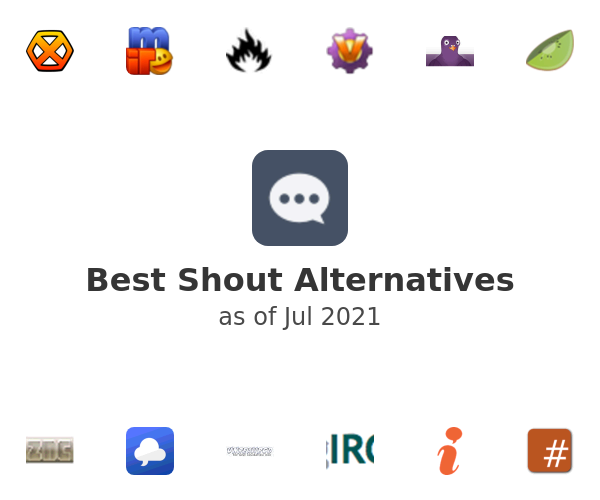 Best Shout Alternatives