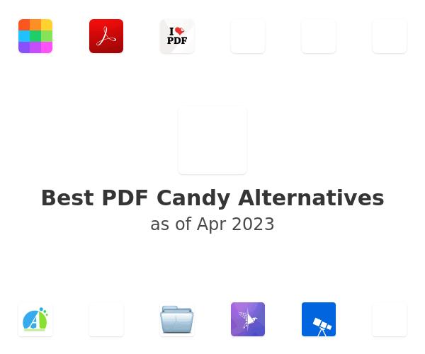 Best PDF Candy Alternatives