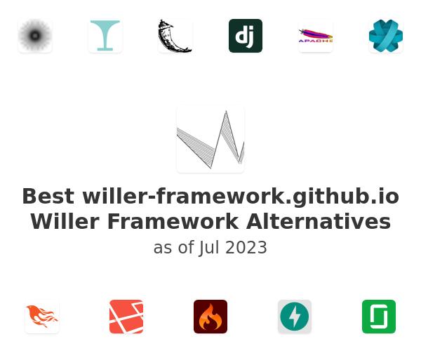 Best Willer Framework Alternatives