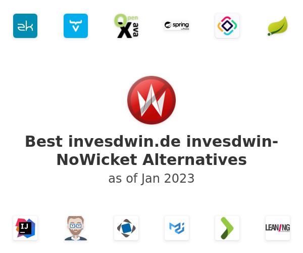 Best invesdwin-NoWicket Alternatives