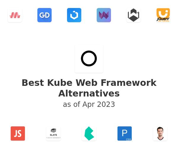 Best Kube Web Framework Alternatives