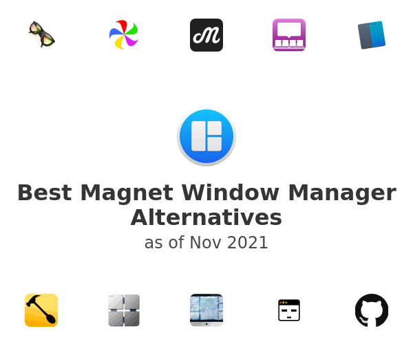Best Magnet Window Manager Alternatives