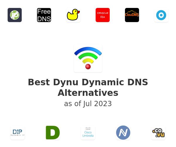 Best Dynu Dynamic DNS Alternatives