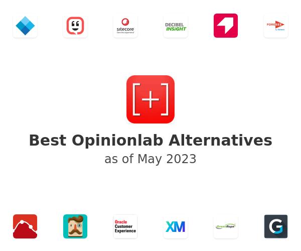 Best Opinionlab Alternatives