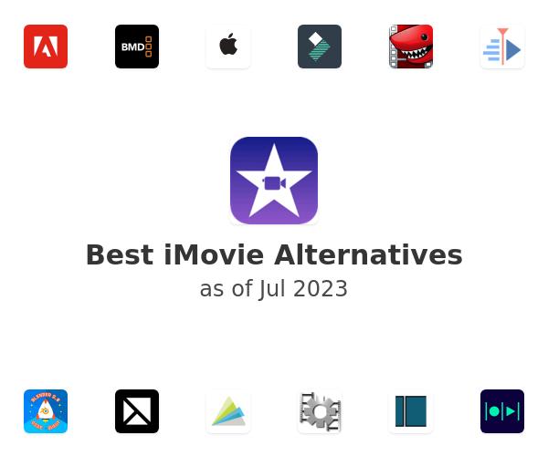 Best iMovie Alternatives