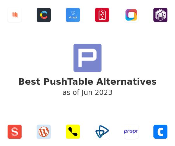 Best PushTable Alternatives