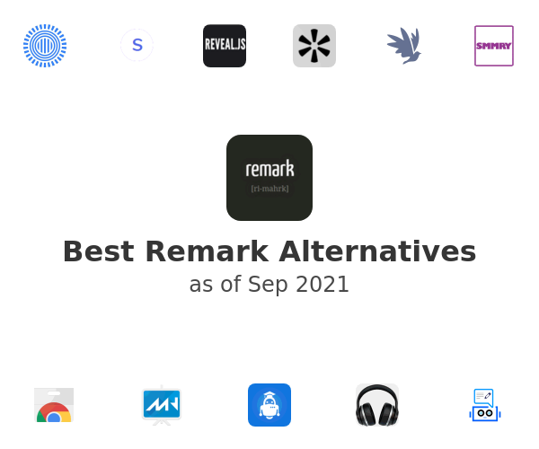 Best Remark Alternatives