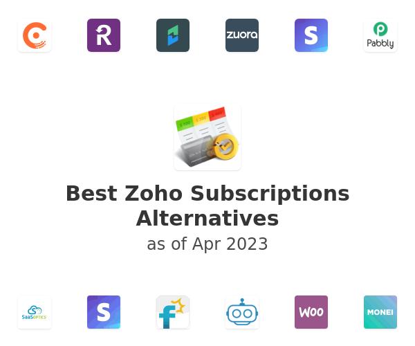 Best Zoho Subscriptions Alternatives