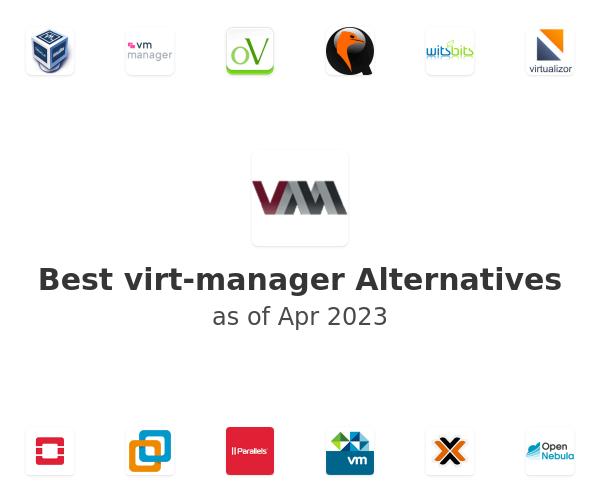 Best virt-manager Alternatives