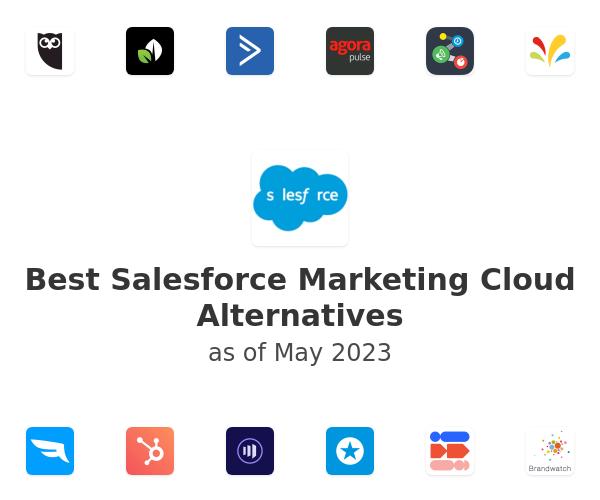 Best Salesforce Marketing Cloud Alternatives