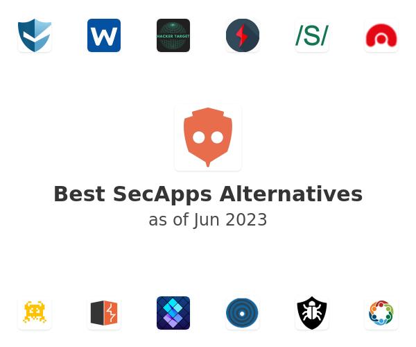 Best SecApps Alternatives