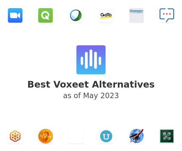 Best Voxeet Alternatives