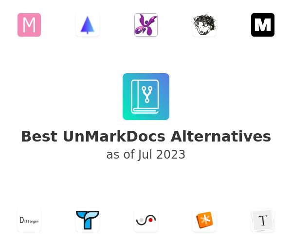 Best UnMarkDocs Alternatives