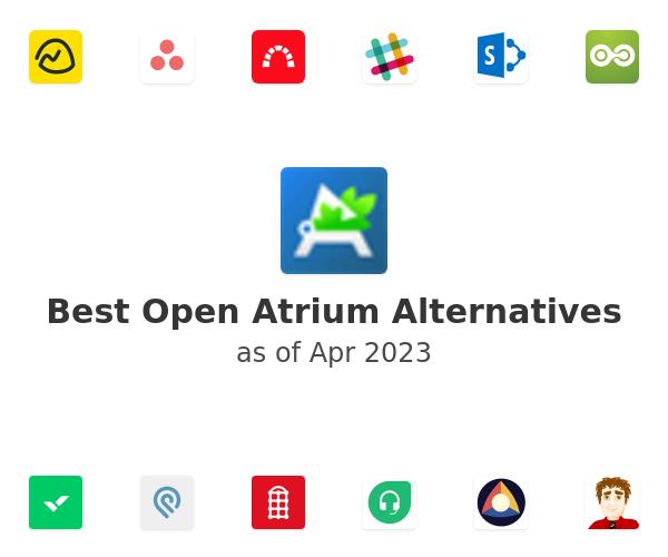 Best Open Atrium Alternatives