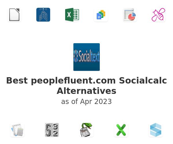 Best Socialcalc Alternatives