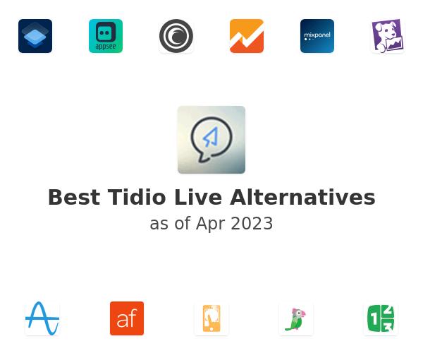 Best Tidio Live Alternatives