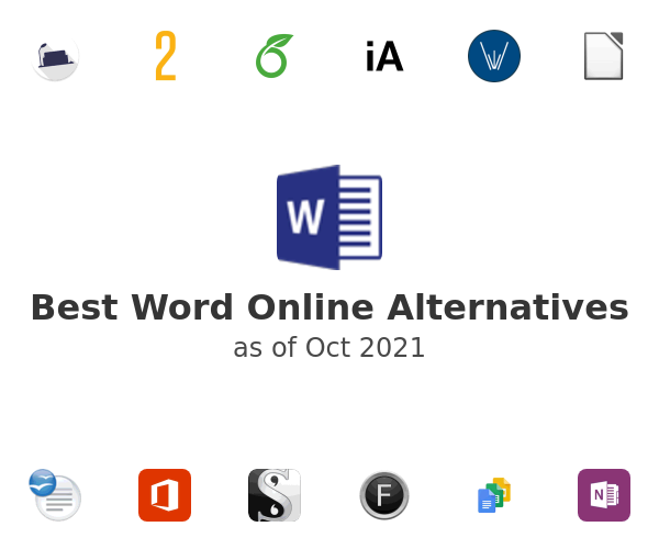 Best Word Online Alternatives