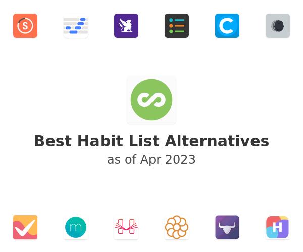 Best Habit List Alternatives