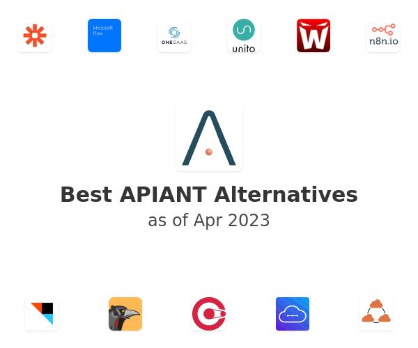 Best APIANT Alternatives