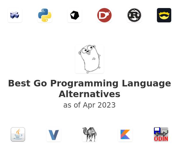 Best Go Programming Language Alternatives