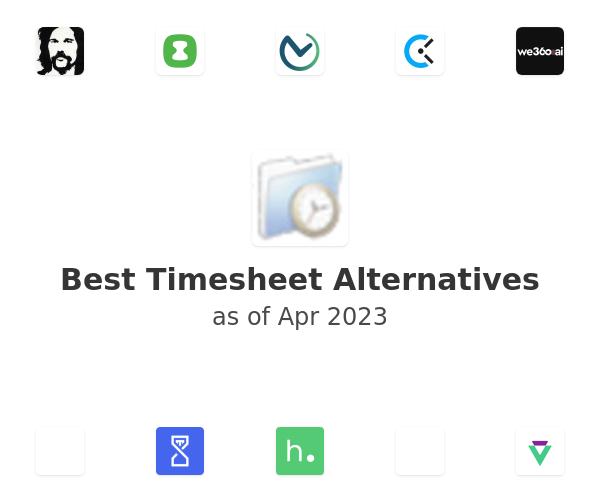 Best Timesheet Alternatives