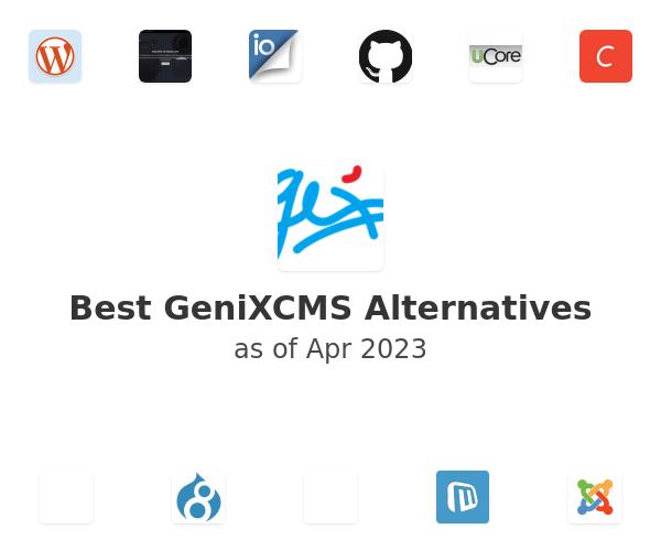 Best GeniXCMS Alternatives