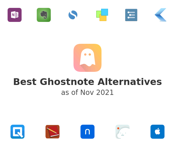 Best Ghostnote Alternatives