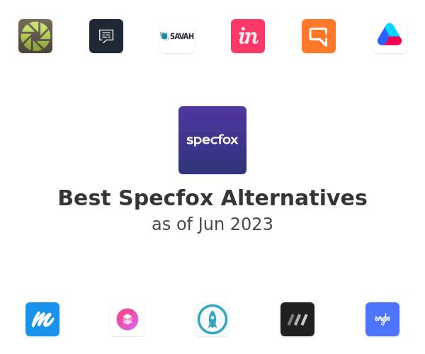 Best Specfox Alternatives