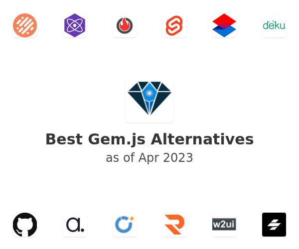 Best Gem.js Alternatives