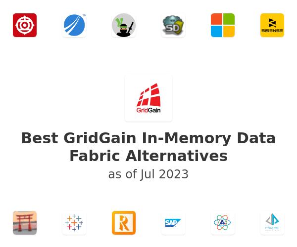 Best GridGain In-Memory Data Fabric Alternatives