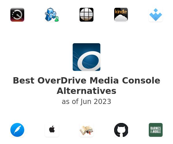 Best OverDrive Media Console Alternatives