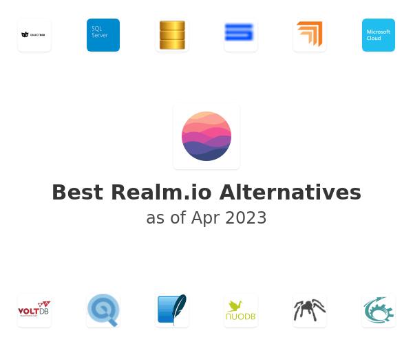 Best Realm.io Alternatives