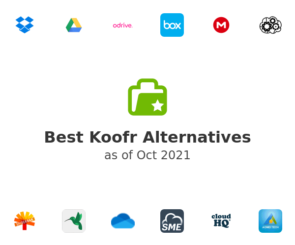 Best Koofr Alternatives
